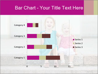 Girl With Baby Sister PowerPoint Template - Slide 52