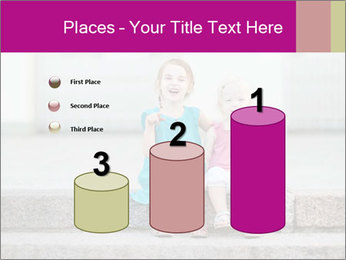 Girl With Baby Sister PowerPoint Template - Slide 65