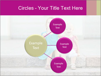 Girl With Baby Sister PowerPoint Template - Slide 79
