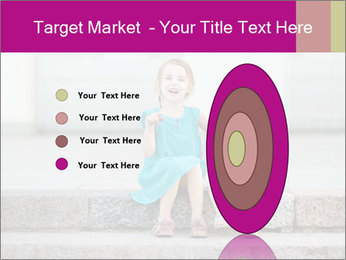 Girl With Baby Sister PowerPoint Template - Slide 84