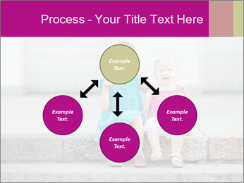 Girl With Baby Sister PowerPoint Templates - Slide 91
