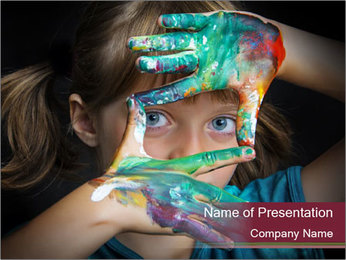 Creative Child PowerPoint Template