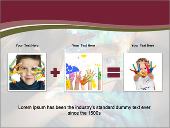 Creative Child PowerPoint Template - Slide 22