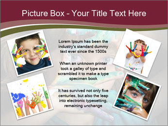 Creative Child PowerPoint Template - Slide 24