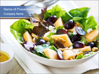 Healthy Salad PowerPoint Template