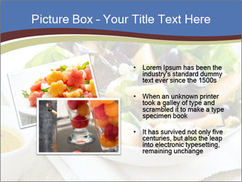 Grape and Cantaloupe PowerPoint Templates - Slide 20