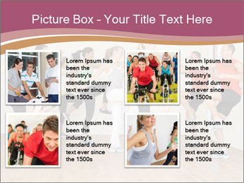 People in Dance Studio PowerPoint Templates - Slide 14