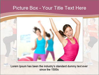 People in Dance Studio PowerPoint Templates - Slide 16