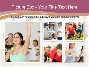 People in Dance Studio PowerPoint Templates - Slide 19