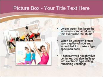 People in Dance Studio PowerPoint Template - Slide 20