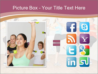 People in Dance Studio PowerPoint Templates - Slide 21