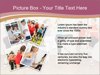 People in Dance Studio PowerPoint Templates - Slide 23