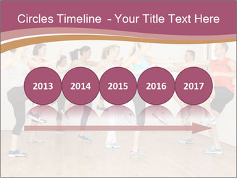 People in Dance Studio PowerPoint Templates - Slide 29