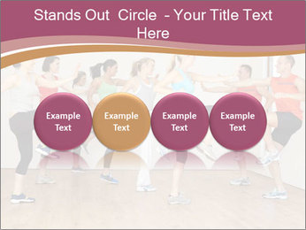 People in Dance Studio PowerPoint Templates - Slide 76