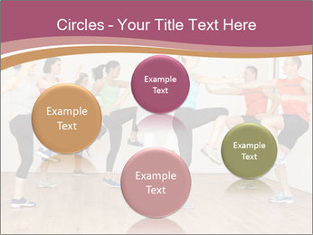 People in Dance Studio PowerPoint Templates - Slide 77