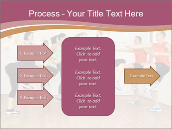 People in Dance Studio PowerPoint Templates - Slide 85