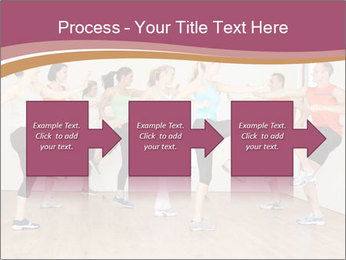 People in Dance Studio PowerPoint Templates - Slide 88