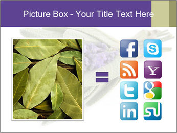Lavender and sage PowerPoint Template - Slide 21