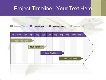 Lavender and sage PowerPoint Template - Slide 25