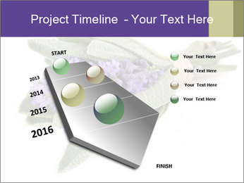 Lavender and sage PowerPoint Template - Slide 26