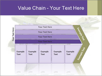 Lavender and sage PowerPoint Template - Slide 27