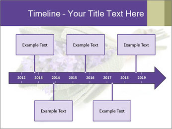 Lavender and sage PowerPoint Template - Slide 28
