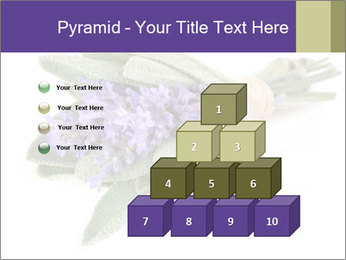 Lavender and sage PowerPoint Template - Slide 31