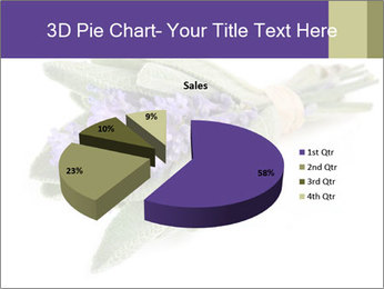 Lavender and sage PowerPoint Template - Slide 35