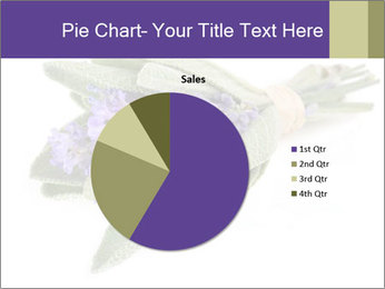 Lavender and sage PowerPoint Template - Slide 36