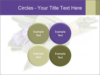 Lavender and sage PowerPoint Template - Slide 38