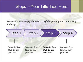 Lavender and sage PowerPoint Template - Slide 4