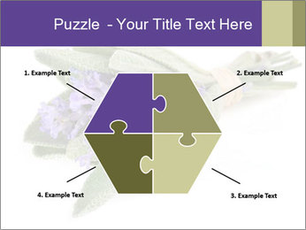 Lavender and sage PowerPoint Template - Slide 40