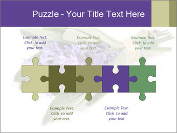 Lavender and sage PowerPoint Template - Slide 41