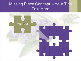 Lavender and sage PowerPoint Template - Slide 45