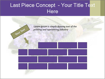 Lavender and sage PowerPoint Template - Slide 46