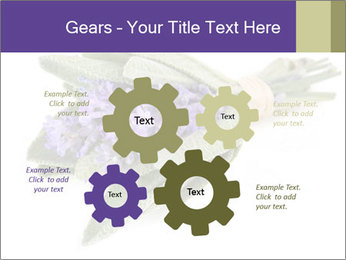 Lavender and sage PowerPoint Template - Slide 47