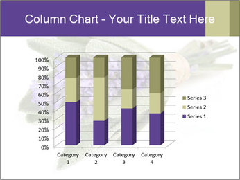 Lavender and sage PowerPoint Template - Slide 50