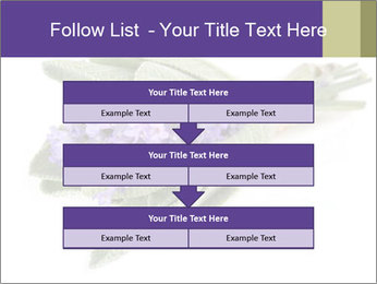 Lavender and sage PowerPoint Template - Slide 60
