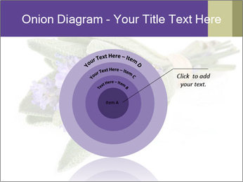 Lavender and sage PowerPoint Template - Slide 61