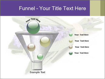 Lavender and sage PowerPoint Template - Slide 63