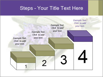 Lavender and sage PowerPoint Template - Slide 64