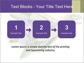 Lavender and sage PowerPoint Template - Slide 71
