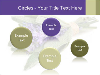 Lavender and sage PowerPoint Template - Slide 77