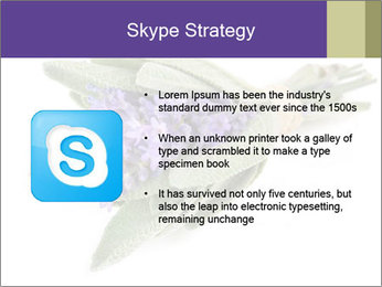 Lavender and sage PowerPoint Template - Slide 8