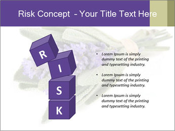 Lavender and sage PowerPoint Template - Slide 81