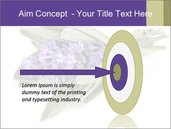 Lavender and sage PowerPoint Template - Slide 83
