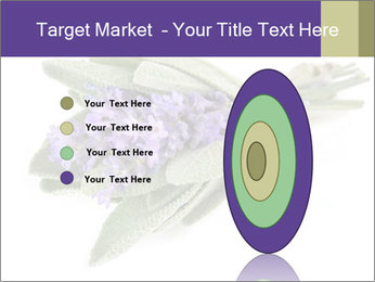 Lavender and sage PowerPoint Template - Slide 84
