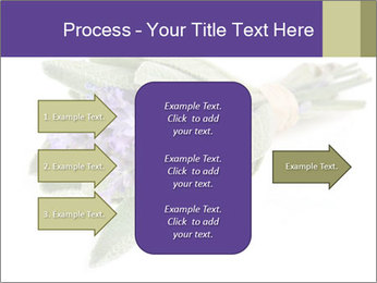 Lavender and sage PowerPoint Template - Slide 85