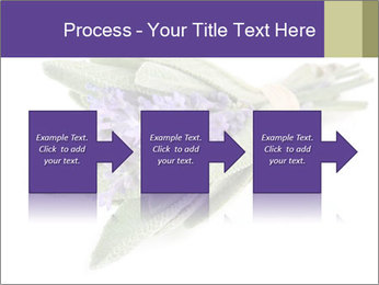 Lavender and sage PowerPoint Template - Slide 88