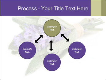 Lavender and sage PowerPoint Template - Slide 91